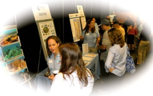 """A community meeting held in June to promote """"Our Florida Reefs."""""""