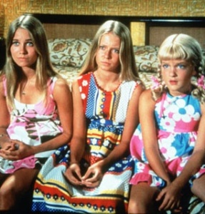 The three Brady Bunch girls.